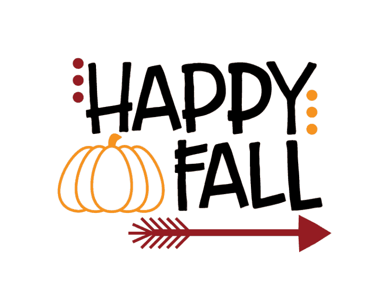 Happy fall free svg file