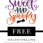 sweet and spooky vector file