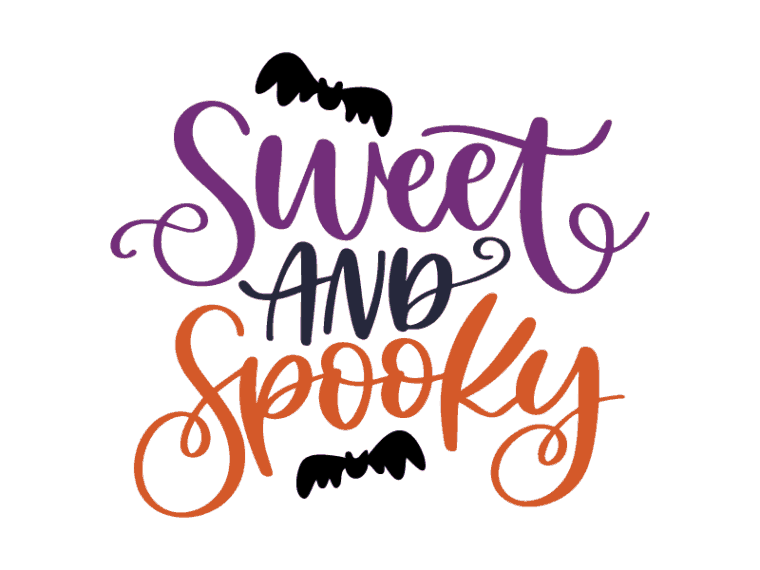 Free svg files. Sweet and spooky svg file dxf file & png jpeg