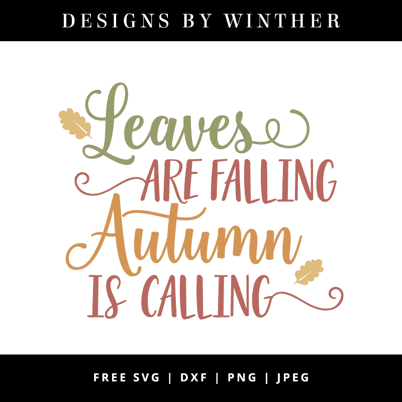 Fall vector clipart
