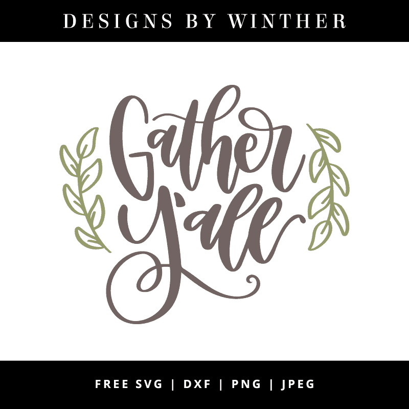 gather y'all vector file