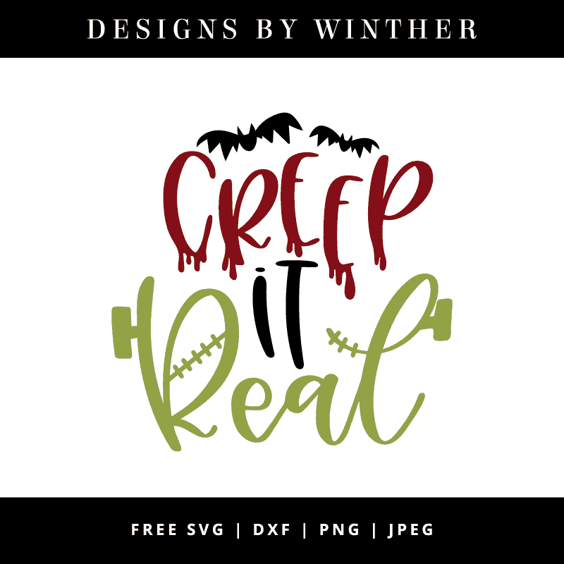 Creep it real vector art