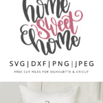 Free vector clipart file. home sweet home.
