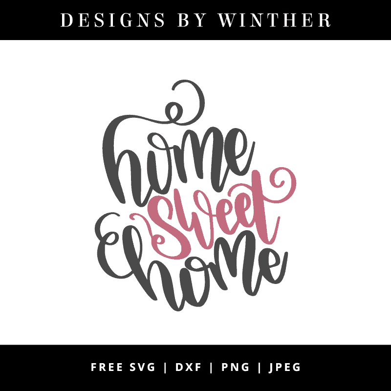 home sweet home vector clipart