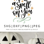 i put a spell on you halloween clipart