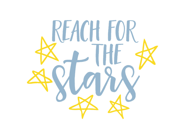 Reach for the stars svg file