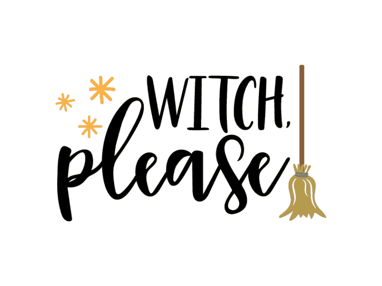 Witch please vector file