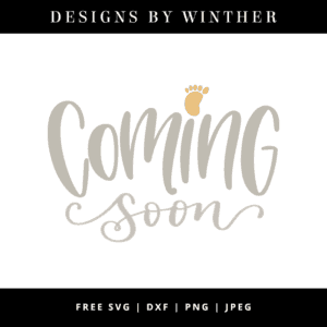 coming soon vector art