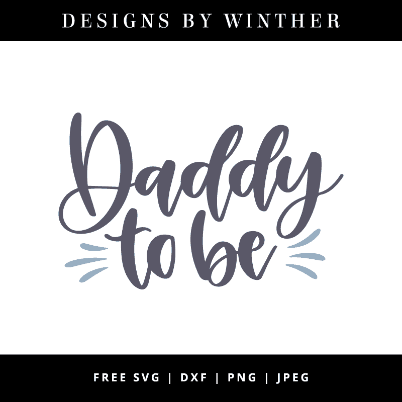 Daddy to be vector art