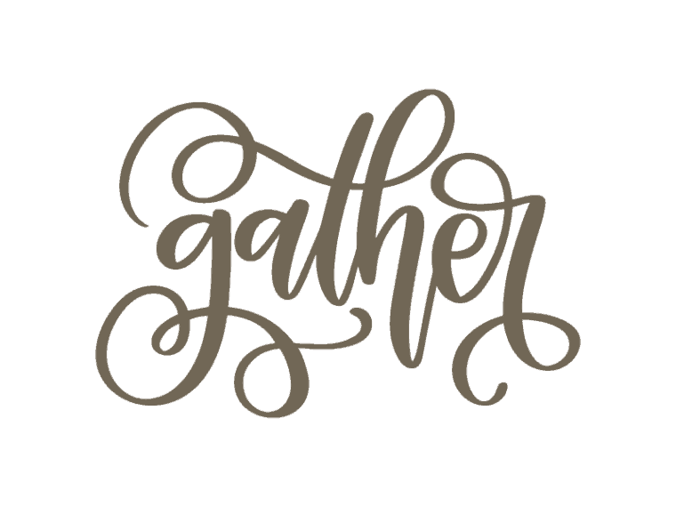 Gather vector artwork