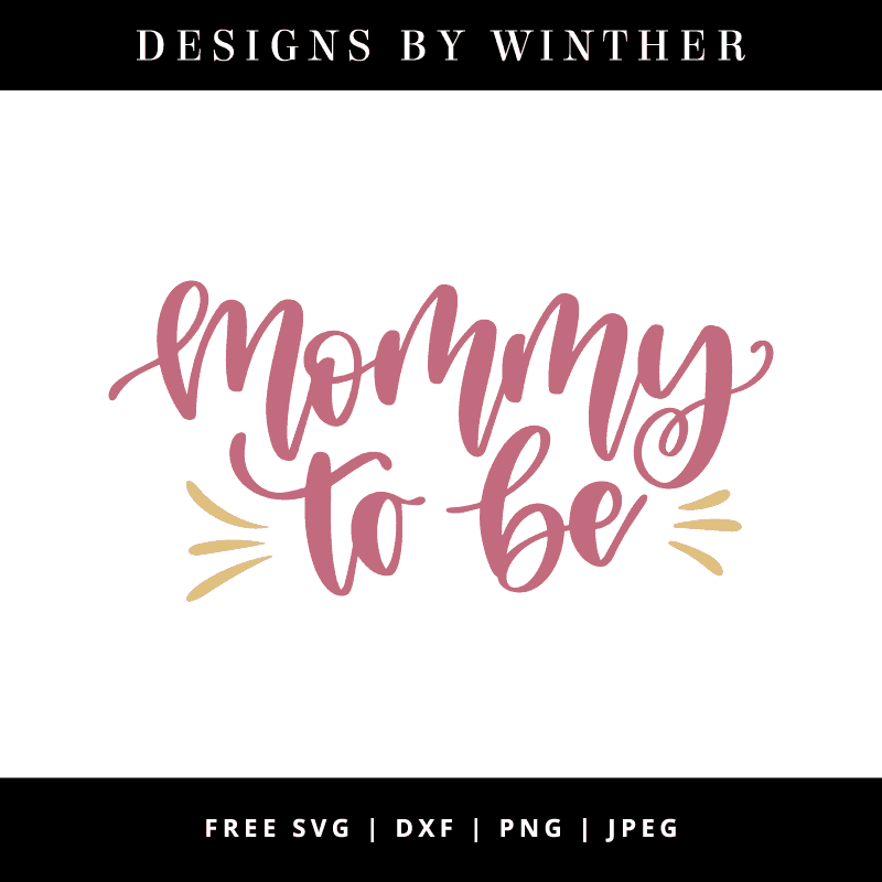 Mommy to be vector art