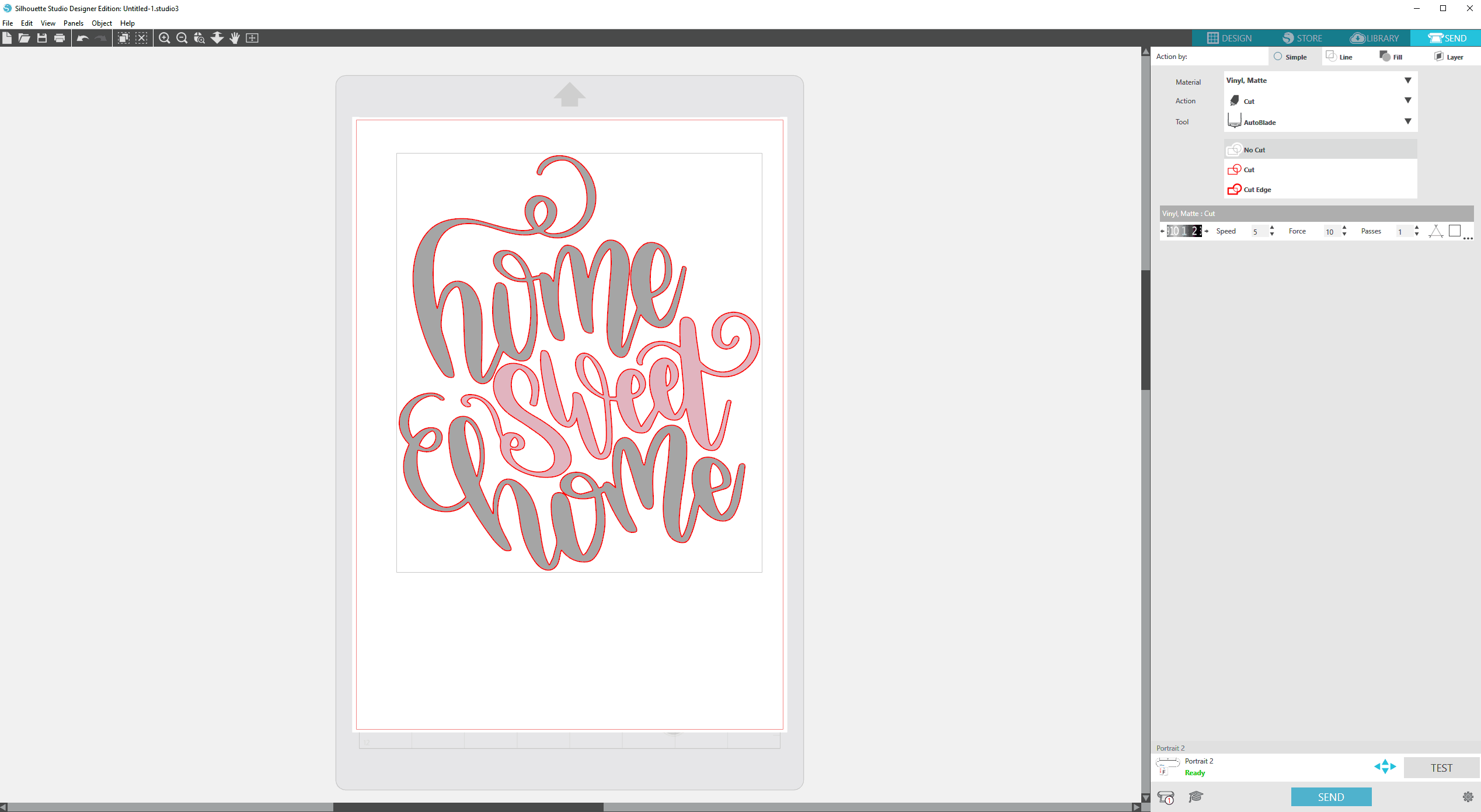 how to import svg files in silhouette studio