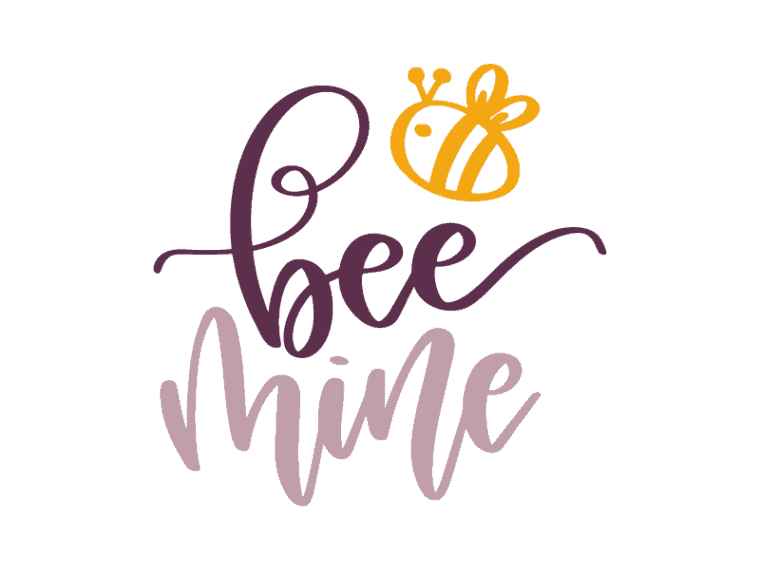 Free bee mine svg file