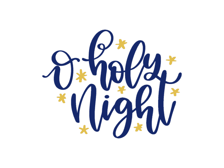 O holy night vector art