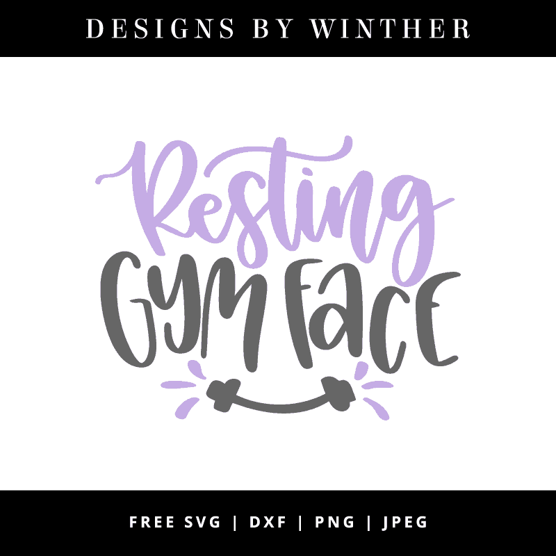 Resting gym face free vector art