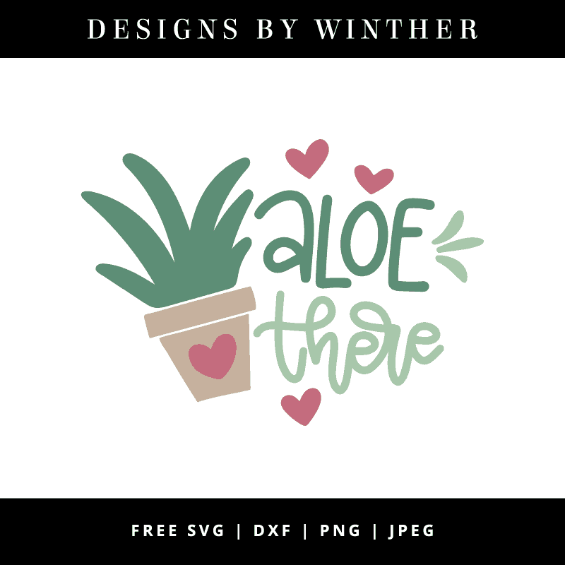 Aloe there vector art