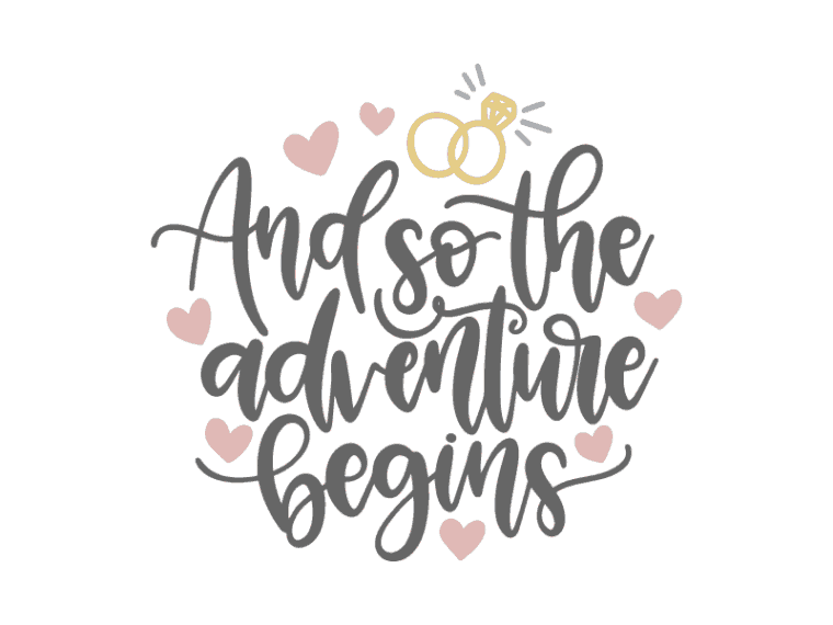 and so the adventure begins vector art