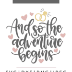 And so the adventure begins vector clipart