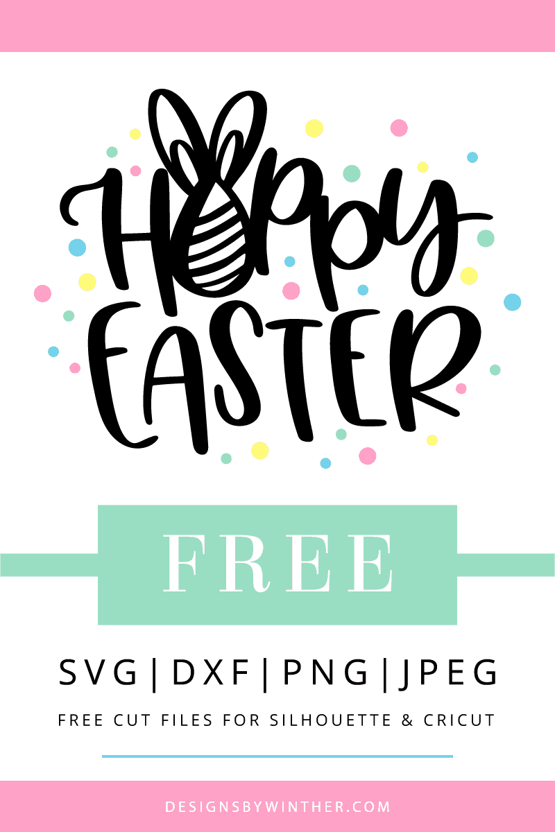 Free hoppy Easter svg file