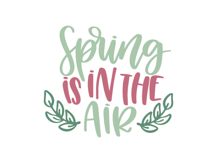 Spring is in the air vector file