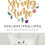 spring time vector clipart
