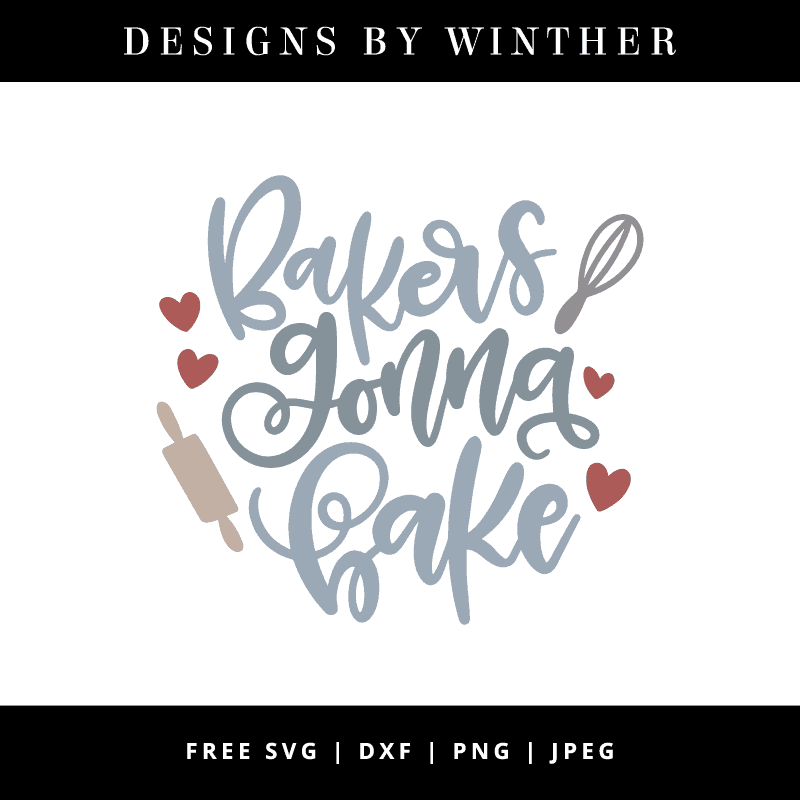Bakers gonna bake vector file