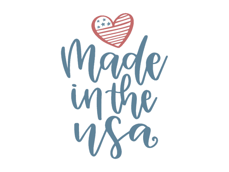 Made in the usa vector art