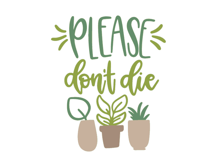 Please don't die svg vector file
