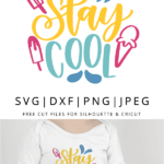 stay cool vector art